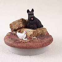 Scottish Terrier Candle Topper Tiny One