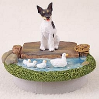 Rat Terrier Candle Topper Tiny One