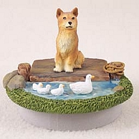 Finnish Spitz Candle Topper Tiny One