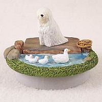 Komondor Candle Topper Tiny One