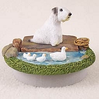 Sealyham Terrier Candle Topper Tiny One