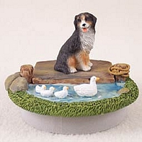 Bernese Mountain Dog Candle Topper Tiny One