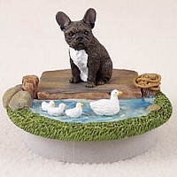 French Bulldog Candle Topper Tiny One
