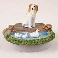 Borzoi Candle Topper Tiny One