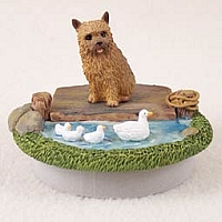 Norwich Terrier Candle Topper Tiny One