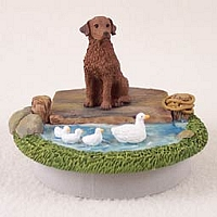 Chesapeake Bay Retriever Candle Topper Tiny One