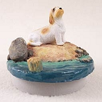 Petit Basset Griffon Vendeen Candle Topper Tiny One