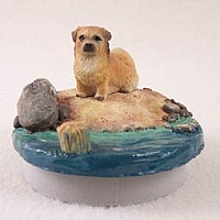 Tibetan Spaniel Candle Topper Tiny One