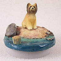 Briard Candle Topper Tiny One