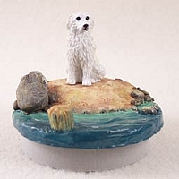 Great Pyrenees Candle Topper Tiny One