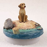 Rhodesian Ridgeback Candle Topper Tiny One