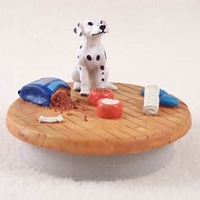 Dalmatian Candle Topper Tiny One