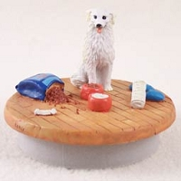 Kuvasz Candle Topper Tiny One
