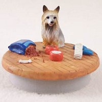 Silky Terrier Candle Topper Tiny One