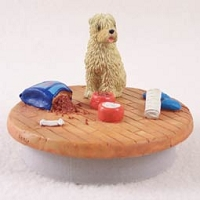 Soft Coated Wheaten Terrier Candle Topper Tiny One