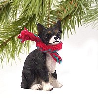 Chihuahua Black & White Original Ornament