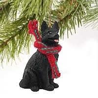 German Shepherd Black Original Ornament