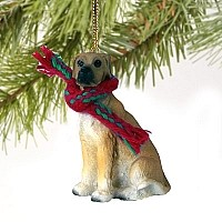 Great Dane Fawn w/Uncropped Ears Original Ornament