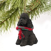 Poodle Chocolate w/Sport Cut Original Ornament