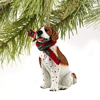Pointer Brown & White Original Ornament