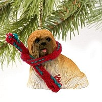 Lhasa Apso Brown Original Ornament