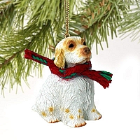 Clumber Spaniel Original Ornament
