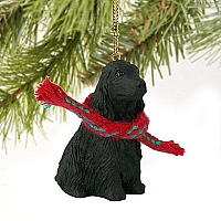 Cocker Spaniel English Black Original Ornament