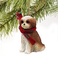 Shih Tzu Tan w/Sport Cut Original Ornament