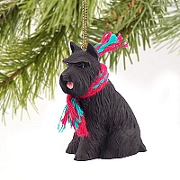 Schnauzer Black Original Ornament