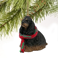 Cocker Spaniel Black & Tan Original Ornament