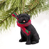 Pug Black Original Ornament