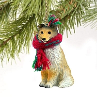 Sheltie Sable Original Ornament