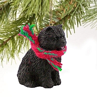 Chow Black Original Ornament