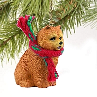 Chow Red Original Ornament