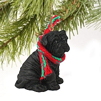 Shar Pei Black Original Ornament