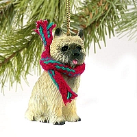 Cairn Terrier Red Original Ornament