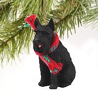 Schnauzer Giant Black Original Ornament