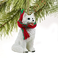 American Eskimo Original Ornament