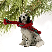 English Setter Belton Blue Original Ornament