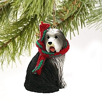 Bearded Collie Original Ornament