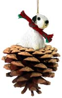 Sealyham Terrier Pinecone Pet Ornament