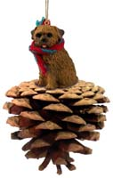 Norfolk Terrier Pinecoat Pet Ornament