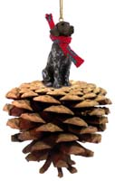 German Short Haired Pointer Pinecone Pet Ornament