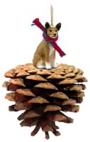 Basenji Pinecone Pet Ornament