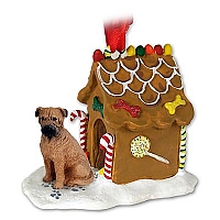 Bullmastiff Ginger Bread House Ornament