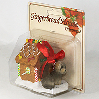 Ornament Ginger Bread House Dogs