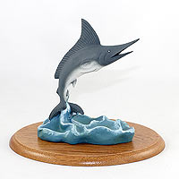 Blue Marlin Figurine