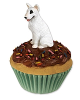 Bull Terrier Pupcake Trinket Box