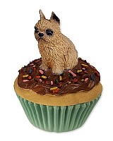 Brussels Griffon Red Pupcake Trinket Box