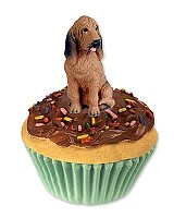Bloodhound Pupcake Trinket Box